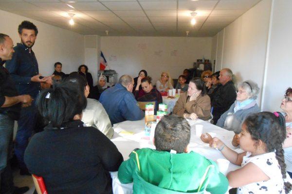 L'implication des habitants dans le projet urbain? Une vaste question abordée dans le cadre d'un café débat à Air bel (Marseille- 11e)