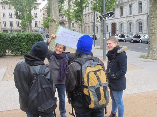 Recueillir la parole des 15/26 ans, habitants et usagers (Lyon 6)