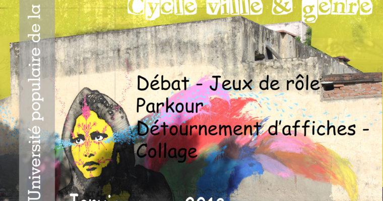 [Université populaire de la Ville] Cycle Ville et genre