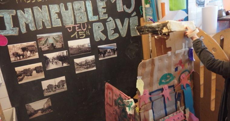 Une journée sur la gentrification dans le 19ème avec des enfants
