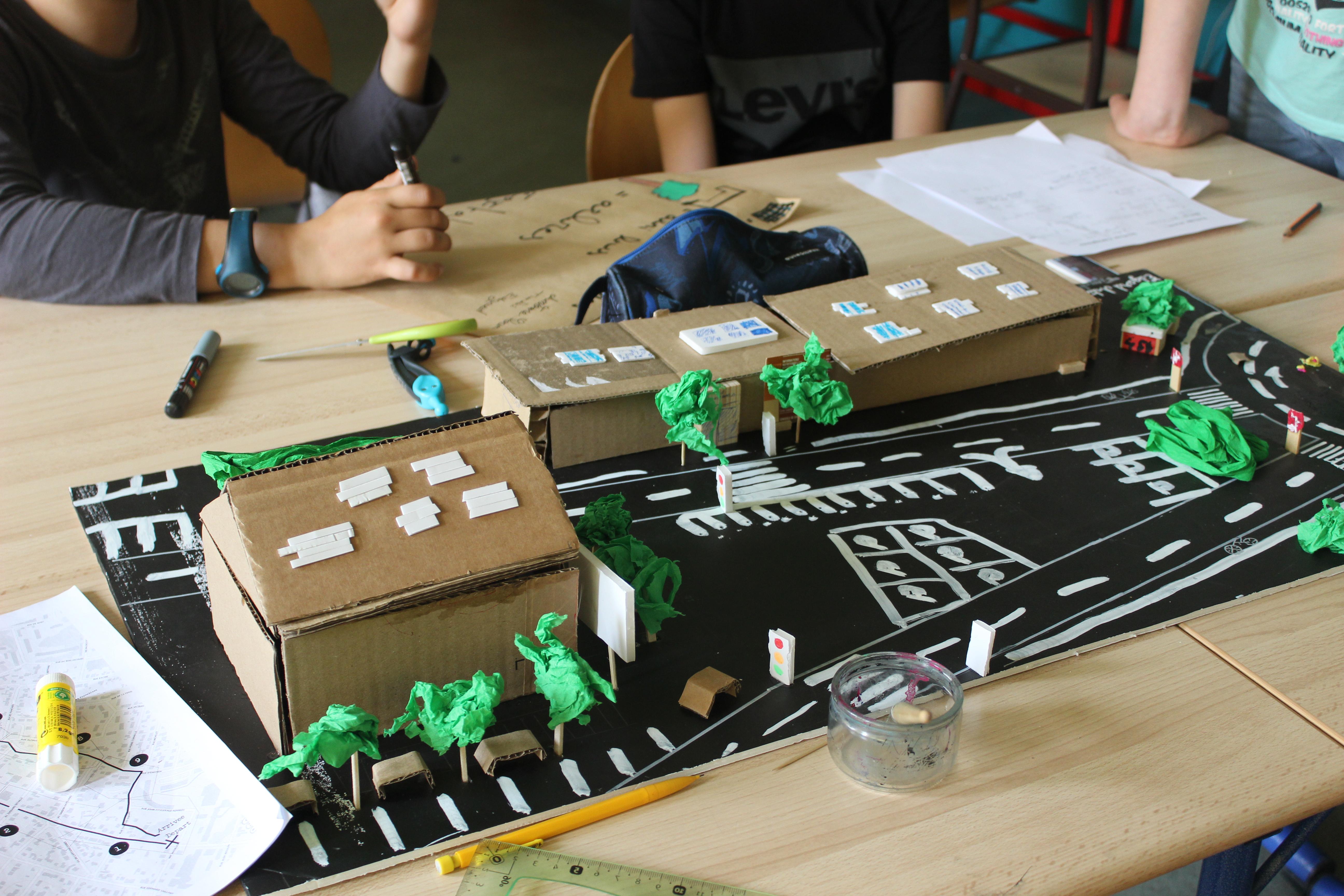 Réinvention du quotidien : Repenser les mobilités avec les collégien.nes d'Eaubonne