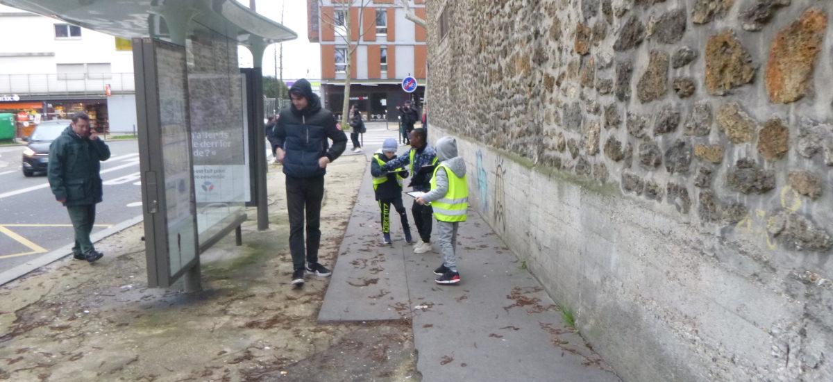 Diagnostic de quartier vu par les enfants (Paris 18e et 20e)