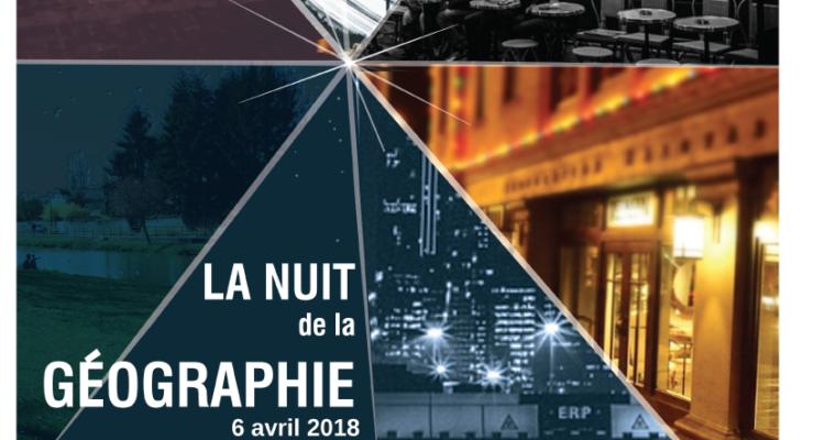 Robins des Villes Lyon participe à la Nuit de la Géographie le 6 avril !