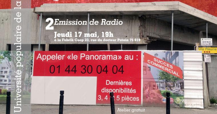 2# Emission de radio – Ville marchande