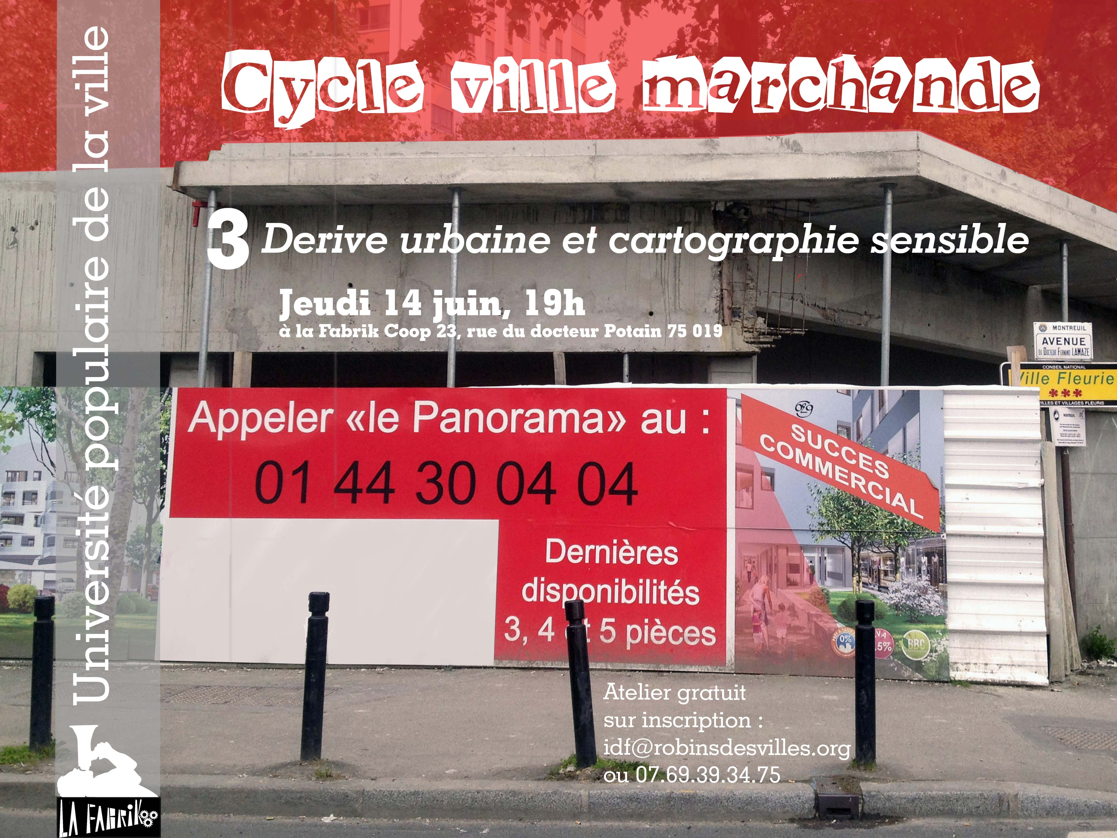 3# Dérive urbaine & cartographie sensible