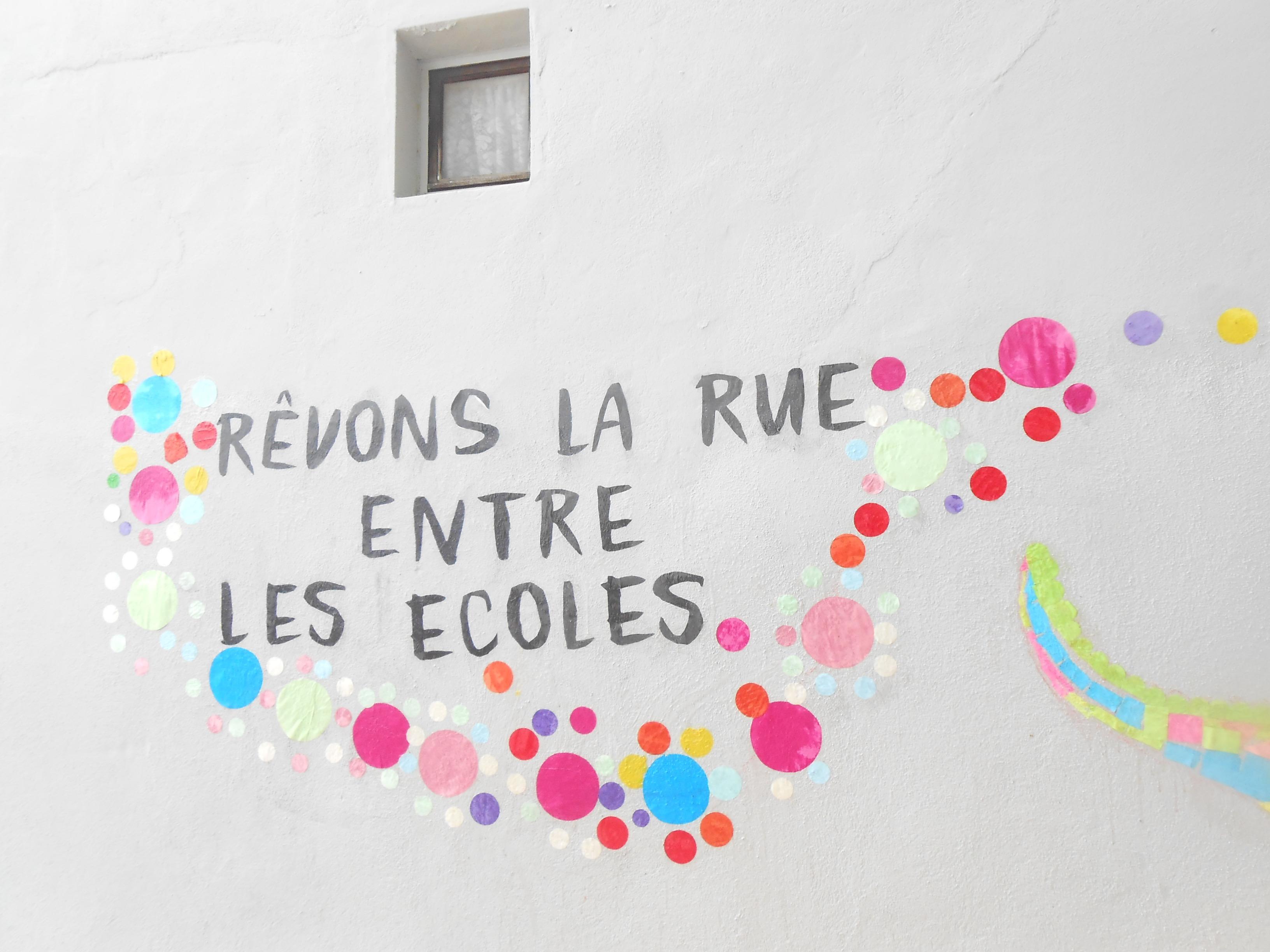 Groupe scolaire Aupècle à Martigues – Réaménageons la rue entre les écoles !