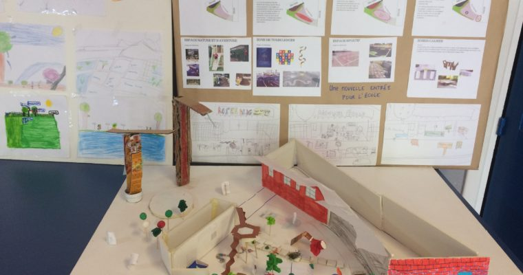 Imaginer une nouvelle cour de récréation: retour sur un an d'ateliers à Bagneux